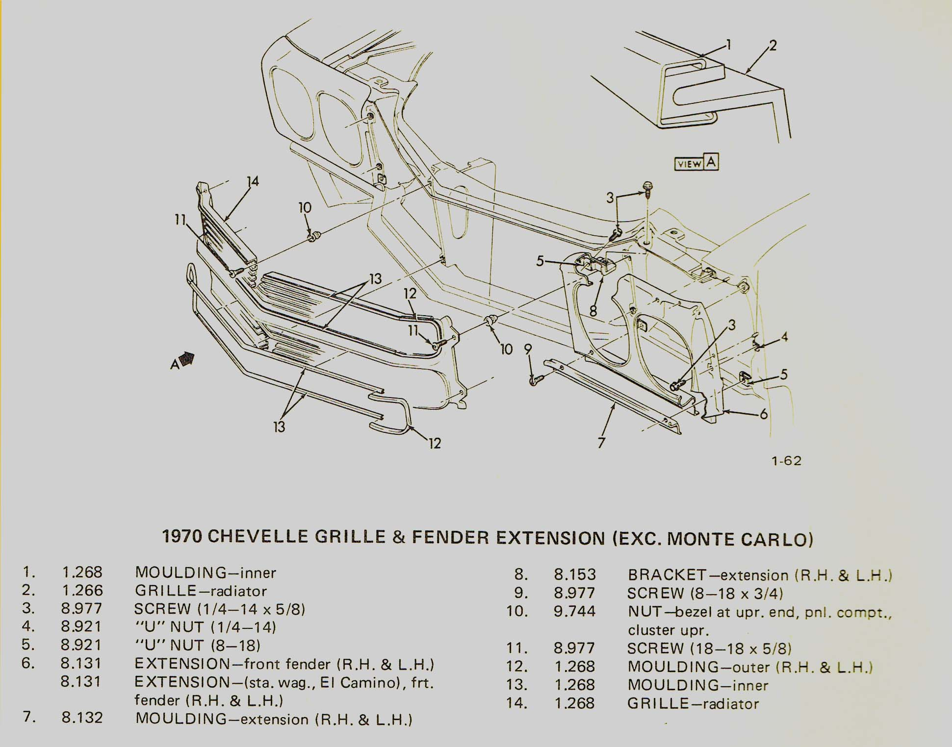 wiring diagram for 1969 chevy truck with 1970 Monte Carlo Radiator on Chevy Chevelle Wiring Diagram moreover 1970 Monte Carlo Radiator further Windshield Wiper Motor Diagram as well New Ford Grand Torino Cobra Jet likewise 1968 Chevrolet Camaro Engine  partment.